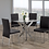 Thumbnail: T-1447 Round Glass 5pc Dinette