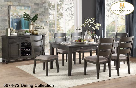 5674 5pc Dining Table Set