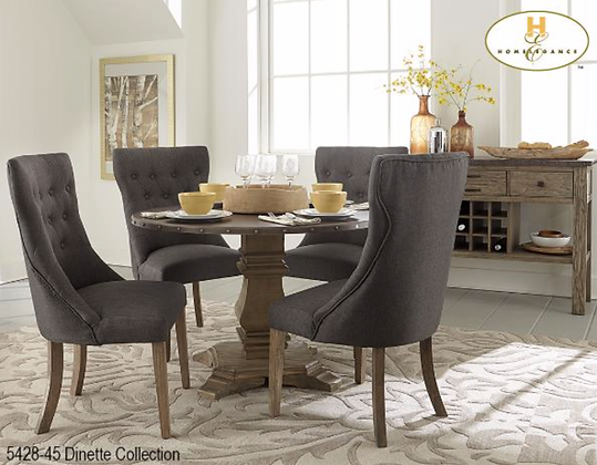 5428 5pc Dining Table Set