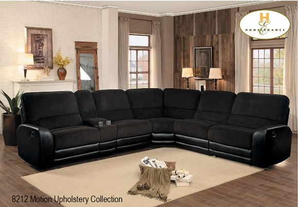 8212 Recliner Sectional
