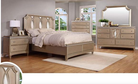 Patricia Storage Bedroom Set