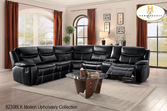 8230 Recliner Sectional