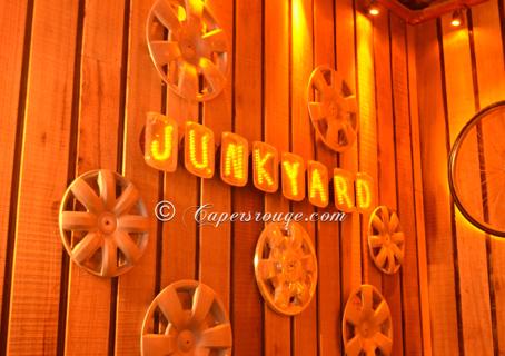 JUNKYARD CAFÉ -The place full of junk but healthy