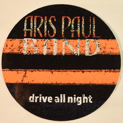 Drive All Night Sticker