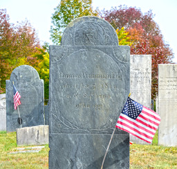 Old Center Cemetery Headstone