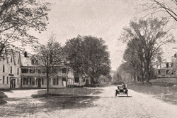 Postcard of Main Street Washington