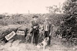 Sunset Rock, Washington NH Circa 1915