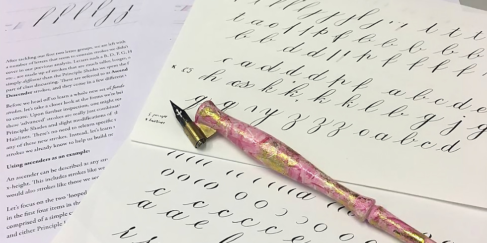 Calligraphy Workshop 西洋書法班