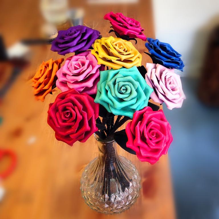 玫瑰花課程