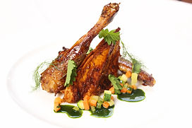 roast guinea fowl paired with Il pollenz