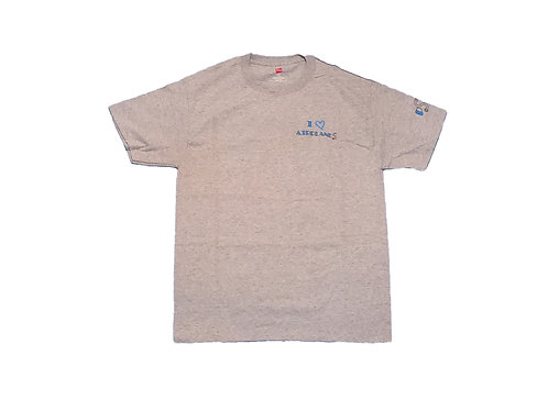 Men's Gray Shirt with Classic Logo