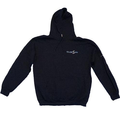 Men's Blue Sweatshirt with Silver Logo