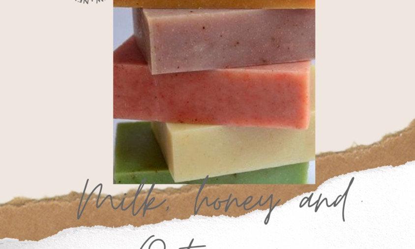 Milk, Oats & Honey Soap