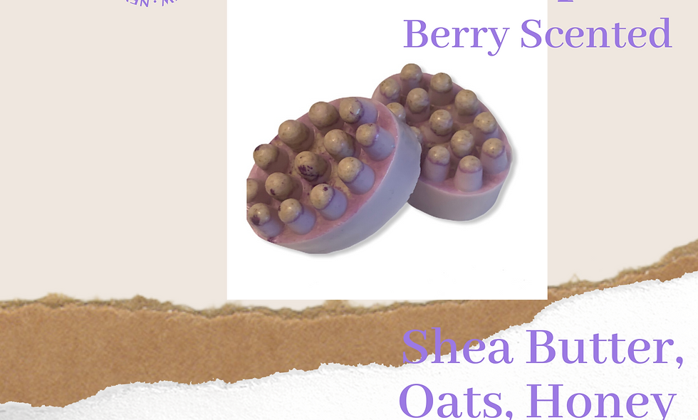Very berry Massaging Soap
