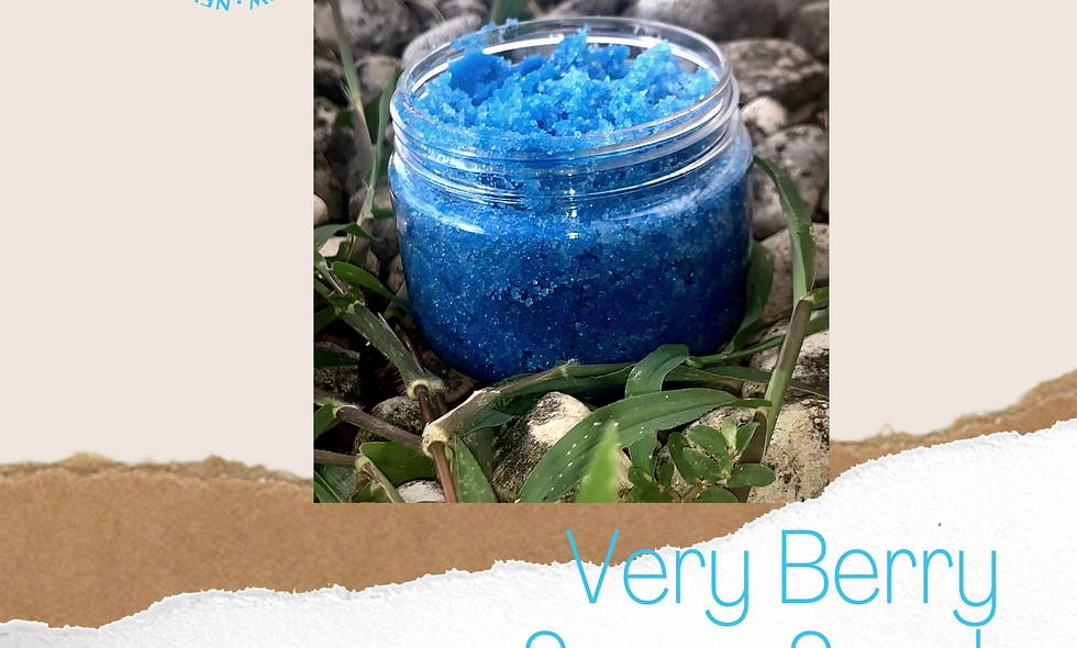 Very Berry Sugar Scrub 4oz