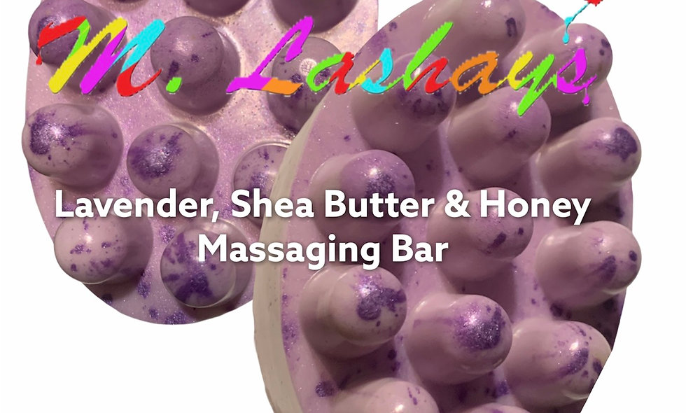 Lavender Shae Butter Cleansing Bar