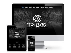 Brand Design for Taboo Nightclub, Bristol