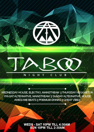Nightclub Flyer Designs
