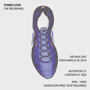 Stay In Tuned on Air Max Day With The Pop-Up Event, Tuned Love