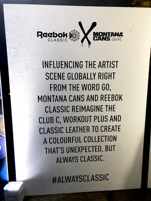 Reebok Classic Team Up With Montana Cans To Bring You A Colourful Re-imagined Collection of The Club