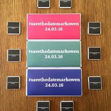 SaveTheDateMarkOwen Chocolate Collection