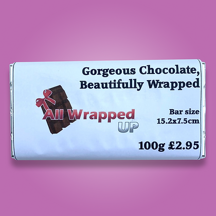 100g Personalised Bar