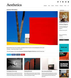 Aesthetica Magazine (UK)