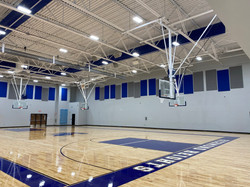 Acoustical Panels in Gymnasium