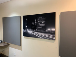 Art work acoustical panel