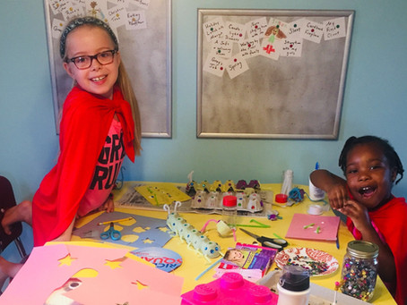 """Organizing Your Kids' """"Schooling From Home"""" Supplies:      How To Take Back Your Table"""