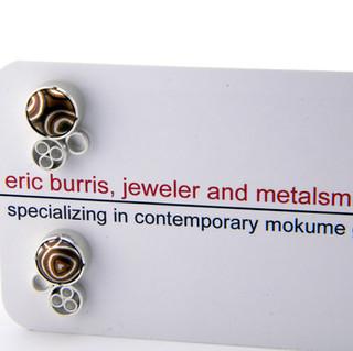 Disc Cluster Earrings