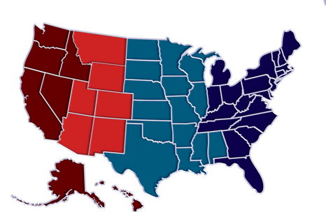 eRugbyUSA competitive regions