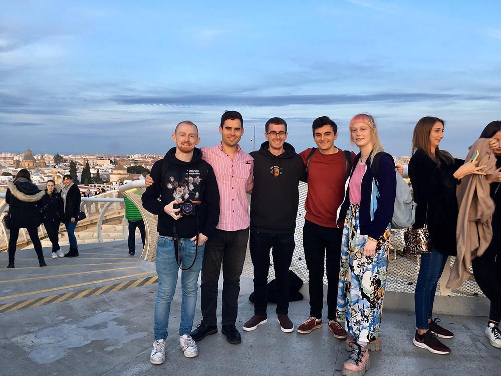 On top of Las Setas/ Photo courtesy of Callum