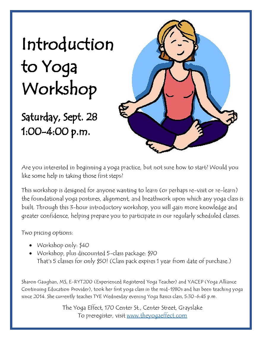 Intro to Yoga Flyer (smg, Sept. 2019)-pa