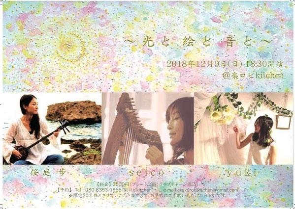 2018/12/9 『〜光と絵と音と〜vol.2』