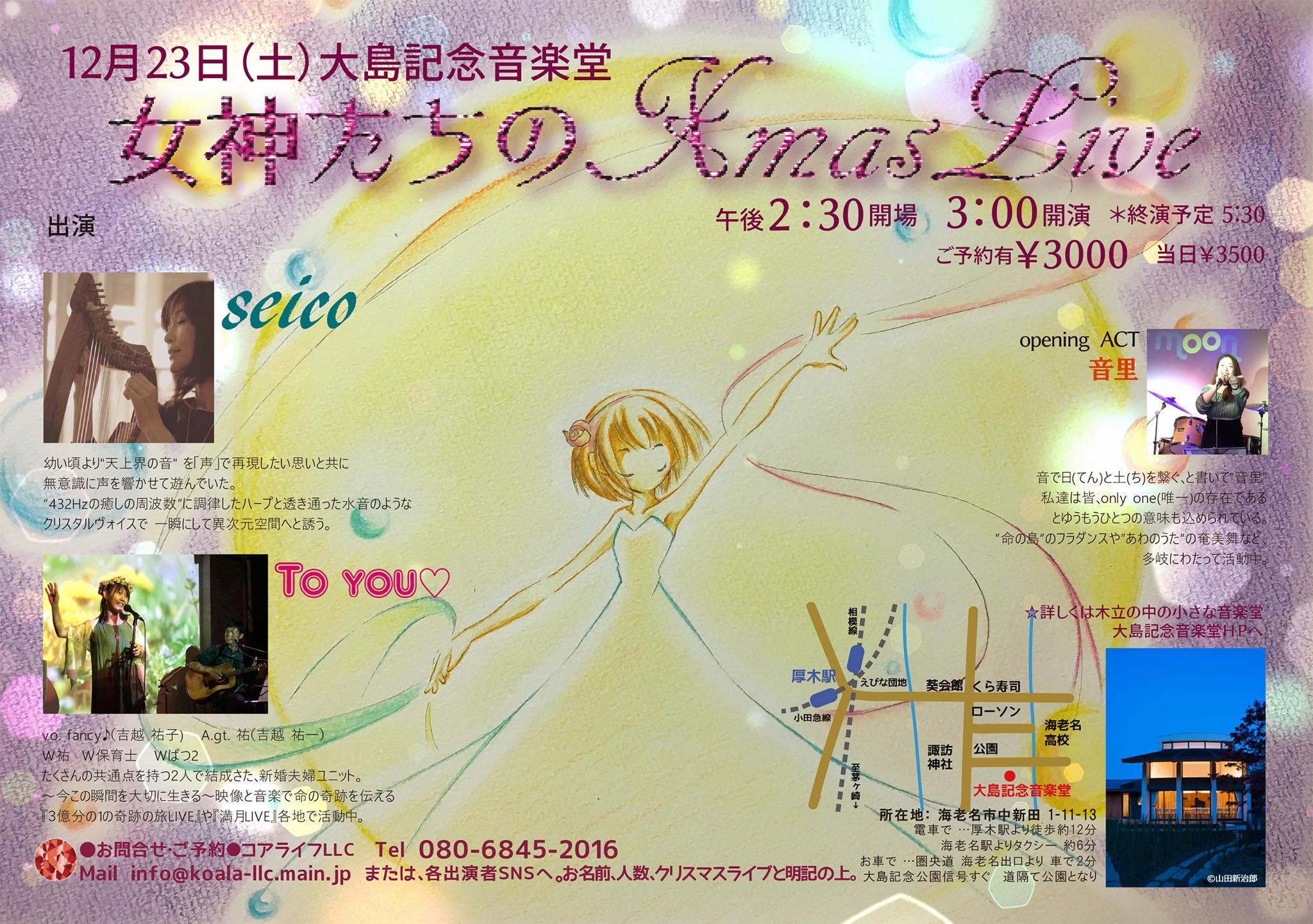2017/12/23『女神たちのクリスマスライブ』