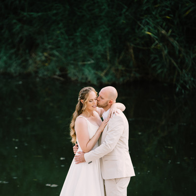 חתונה - שמלת כלה של נגה -  יערה מן