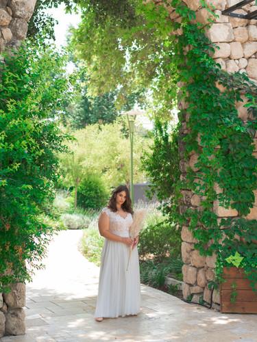 יערה מן מעצבת שמלות כלה בתל אביב