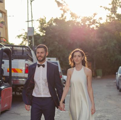 חתונה שמלת הכלה של דנה- יערה מן
