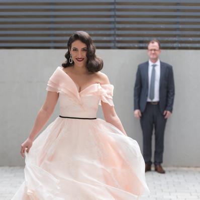חתונה - שמלת הכלה של יערה מן
