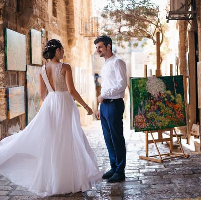 חתונה - שמלת כלה של לולה - יערה מן