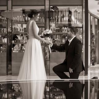 חתונה - שמלת הכלה של יפית