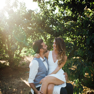 חתונה - שמלת כלה של רותם - יערה מן