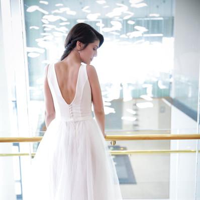 חתונה- שמלת כלה של דניאל- יערה מן