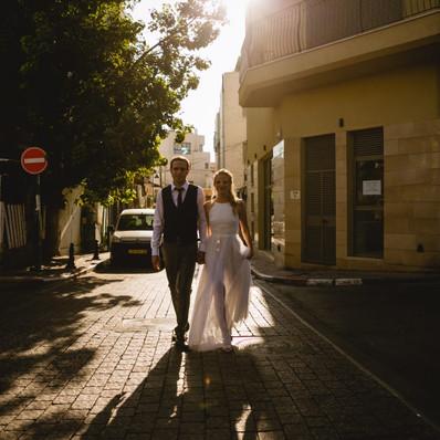 חתונה - שמלת כלה של אלונה - יערה מן
