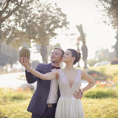 חתונה- שמלת הכלה של נטע