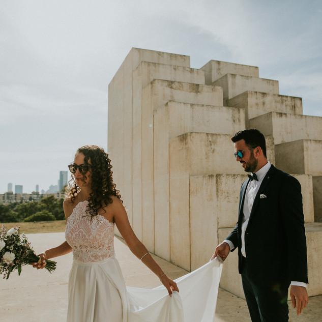חתונה שמלת הכלה של קולן - יערה מן