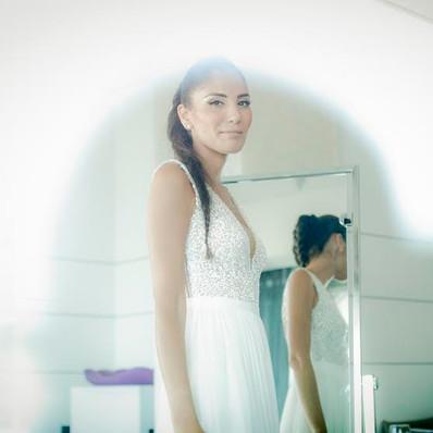 חתונה - שמלת כלה של קרן- יערה מן