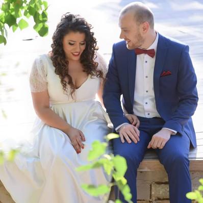 חתונה- שמלת הכלה של אביב