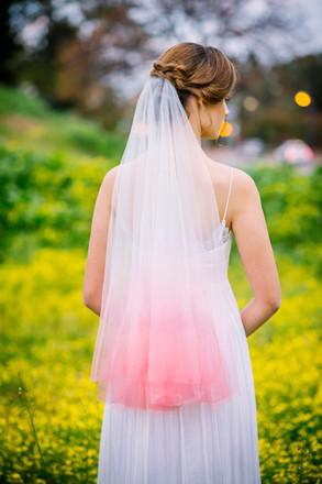 הינומות האומברה של מעצבת שמלות הכלה יערה